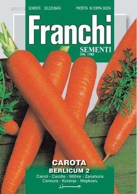 Морковь Berlicum 2 (0,2 гр)  23/15