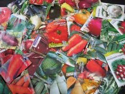 Семена в рулоне (уцененный товар)