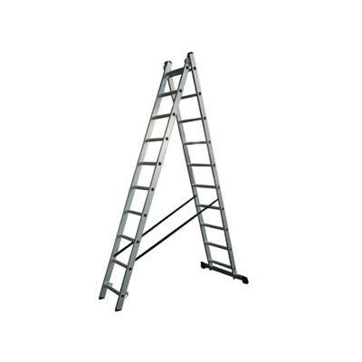Лестница алюминиевая AC0210A двойная
