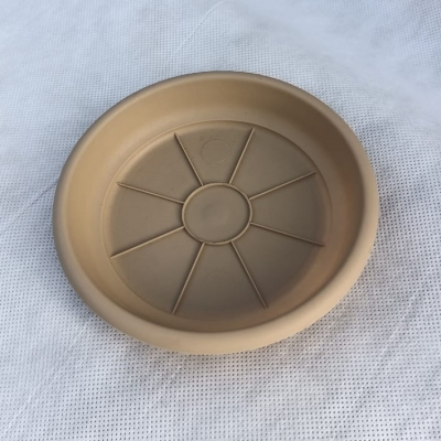 Поддон Гала 14 см для горшка Корал 13 см, бежевый (латте)