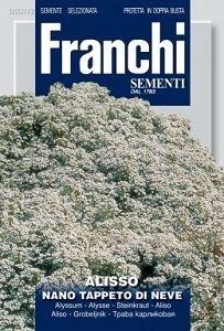 Алиссум белый Nano Tappeto Di Neve (1 гр)  DBF301/2