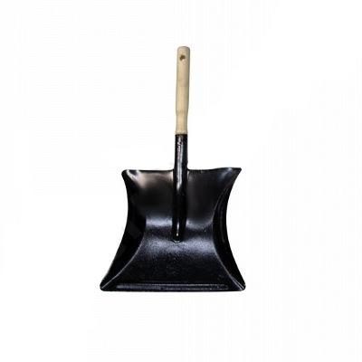 Совок для мусора с деревяной ручкой 071011