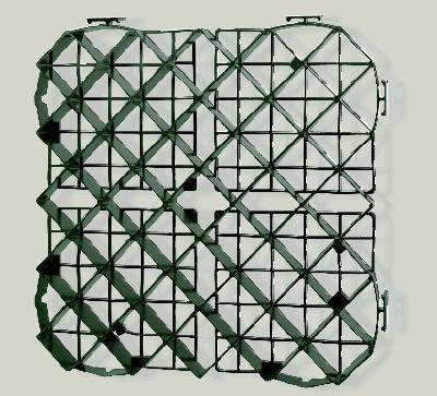 Пластмассовая решетка для защиты травы 50 мм (0700050V)