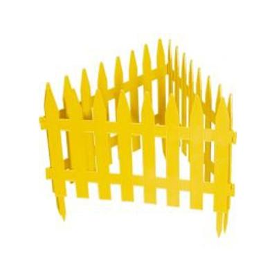 """Забор декоративный """"Рейка"""" 28x300 см желтый 65000"""