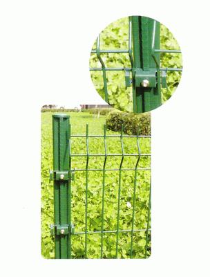 Столб заборный плюс крепление пластиковое (4 шт.) 40X60MM высота: 2.3 M (H.S. CODE:7308.9000)