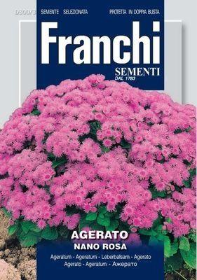 Агератум низкий розовый Nano Rosa (0,5 гр)  DBF 300/3