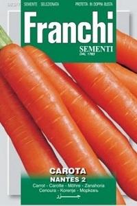 Морковь CAROTA Nantes (0,2 гр) 23/7