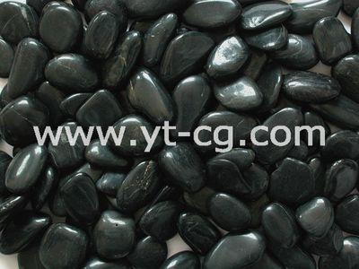 Галька полированная PB003 Черная 20-40 MM 20 кг