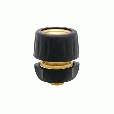 Коннектор 1015 на 1/2 латунный с аквастопом