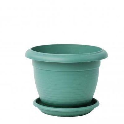 Горшок Терра 1л, зеленый