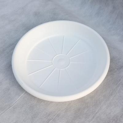 Поддон Гала 16 см для горшка Корал 15 см, белый