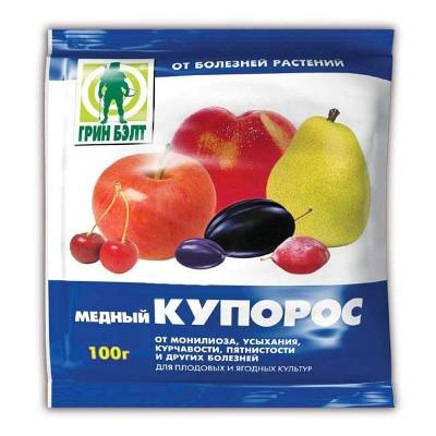 МЕДНЫЙ КУПОРОС пакет 100 г (100)