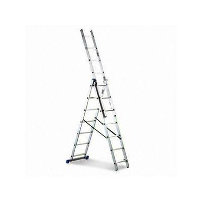 Лестница алюминиевая AC0312A тройная