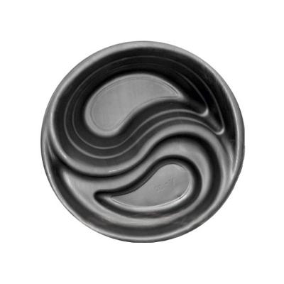Пруд черный круглый, D=80cm. H=30cm (80л)