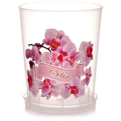 Горшок орхидея 0,7 л. М3125 маленький