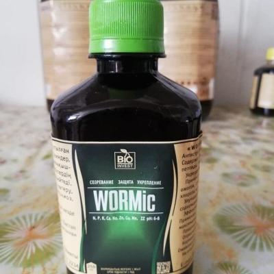 Удобрение органическое жидкое WORMic 0.25 л