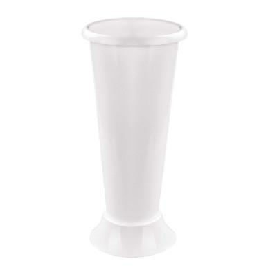 Ваза д/цветов под срезку (D200 высота 425 mm) белый (уп.12)